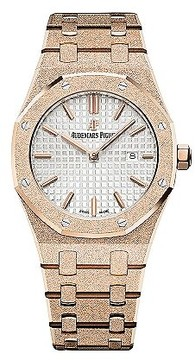 Audemars Piguet Royal Oak Ladies 18K Rose Gold Hand Wound Watch