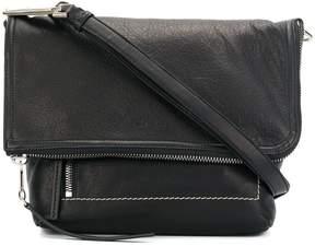 Rick Owens foldover messenger bag