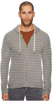Billy Reid Herringbone Hoodie Men's Sweatshirt