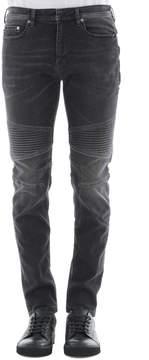 Neil Barrett Black Cotton Jeans