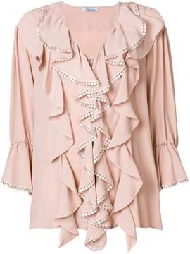 Blumarine ruffled blouse