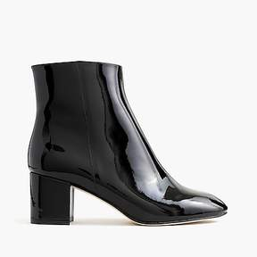 J.Crew Hadley patent leather boots