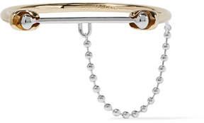 Eddie Borgo Silver And Gold-tone Bracelet