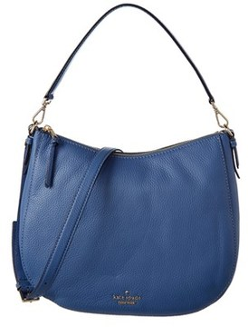 Kate Spade Jackson Street Mylie Leather Hobo. - BLUE - STYLE