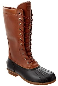 Australia Luxe Collective Women's Luxe Havea Tall Leather Duck Boot.