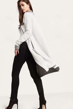 Dynamite Waterfall Sweater Coat