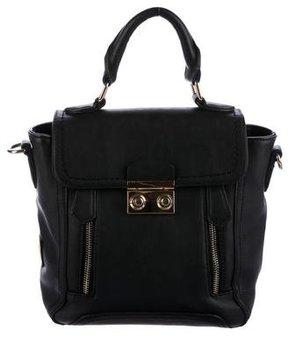 Christian Lacroix Leather Zip Satchel