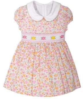 Iris & Ivy Baby Girl's Floral Smock Dress