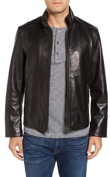 Cole Haan Men's Lamb Leather Jacket