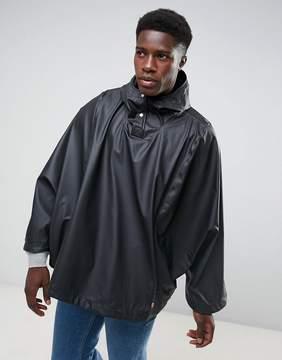 Herschel Forecast Waterproof Poncho in Black