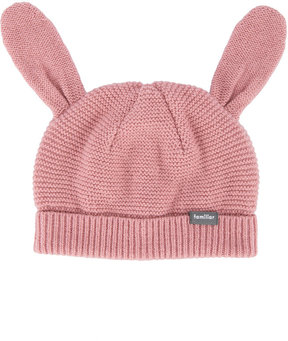 Familiar bunny ears knitted hat