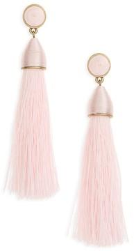 BaubleBar Women's Rosabella Tassel Drop Earrings