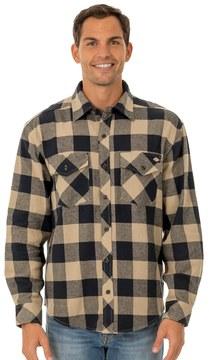 Dickies Big & Tall Brawny Plaid Flannel Button-Down Shirt