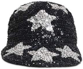 Forever 21 Starry Sequin Duckbill Cap