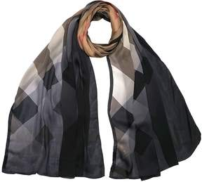 Burberry Classic Ombre Washed Scarf in Check