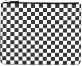 Givenchy checkered zip pouch