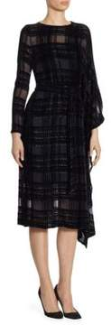 Akris Velvet Square Dress