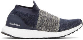 adidas Navy UltraBOOST Laceless Sneakers