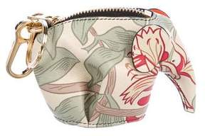 Loewe Floral Elephant Coin Purse