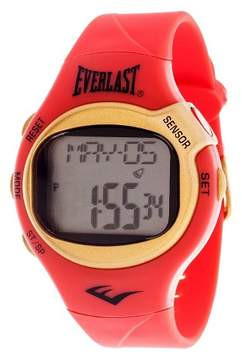 Everlast Heart Rate Monitor Watch - Red