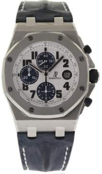 Audemars Piguet Royal Oak Offshore 26170ST.OO.D305CR.01 Stainless Steel & Leather Automatic 42mm Mens Watch