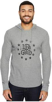 Life is Good Star Circle Men's Long Sleeve Pullover