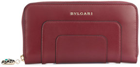 Bulgari all around zip wallet