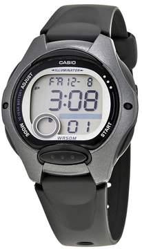 Casio Ladies Black Resin Digital Watch