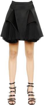 Christopher Kane Double Tulle Godet Skirt