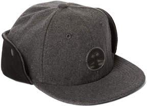 Weatherproof Gray & Black Button-Flap Baseball Cap - Boys