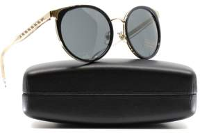 Versace VE2185 125287 Black Cat Eye Sunglasses