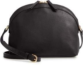 Nordstrom Half Moon Leather Crossbody Bag