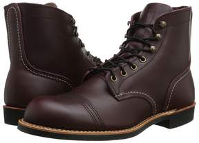 Red Wing Shoes 6 Iron Ranger Lug Men's Lace-up Boots
