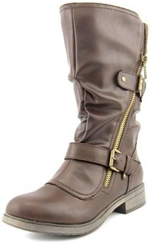 Report Hamlin Women Round Toe Synthetic Mid Calf Boot.