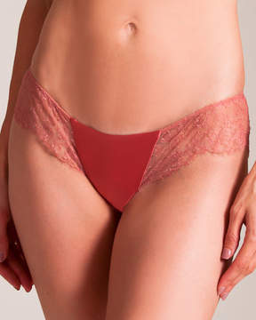 Carine Gilson Rose's Lace Brief