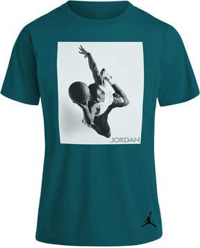 Jordan Flight Heritage Graphic-Print Cotton T-Shirt, Big Boys (8-20)