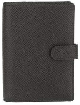 Louis Vuitton Black Taiga Agenda PM (Pre Owned) - BLACK - STYLE