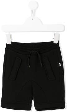 Karl Lagerfeld drawstring-waist track shorts