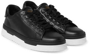 Valentino Mountain Leather Sneakers