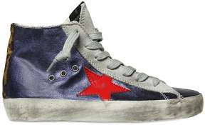 Golden Goose Deluxe Brand Super Star Laminated Leather Sneakers