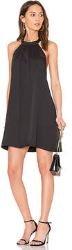 Bobi BLACK Woven Halter Dress