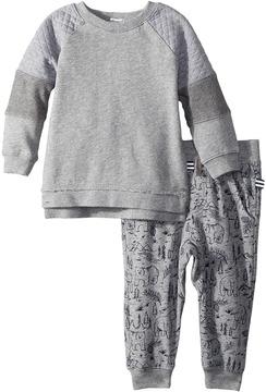 Splendid Littles Mixed Fabric Pants Set Boy's Active Sets