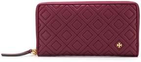 Tory Burch quilted zip-around wallet