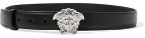 Versace - Leather Belt - Black