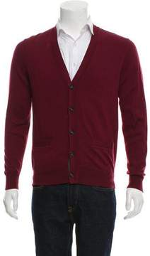 Jack Spade Woven Button-Up Cardigan