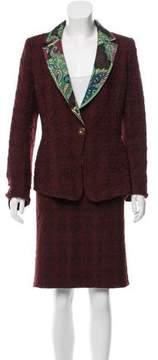 Christian Lacroix Wool Pencil Skirt Suit