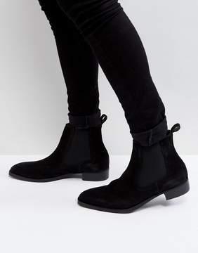 Aldo Oneillan Suede Chelsea Boots In Black