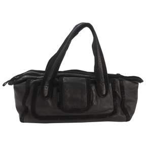Pierre Hardy Black Leather Handbag