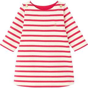 Petit Bateau Striped sailor jersey dress 3-36 months