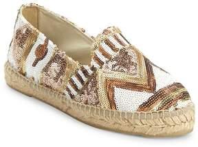 Manebi Women's Los Angeles Espadrille Flatform Sandals